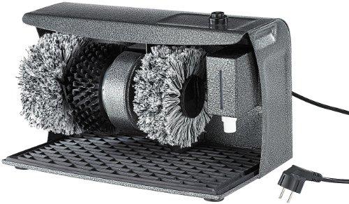 Sichler Haushaltsgeräte Schuhputzmaschine: PROFI Schuhputz-Maschine,...