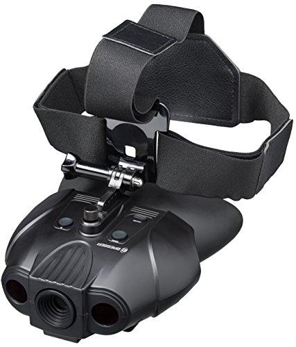 Bresser digitales Nachtsichtgerät Binokular 1x mit integriertem Akku, 7...