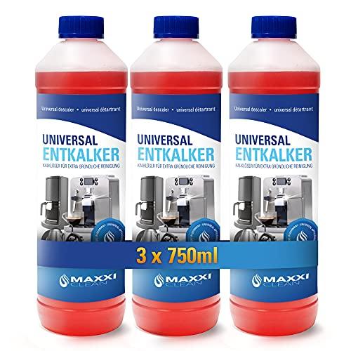 Maxxi Clean Power Universal Entkalker für Ihren Kaffeevollautomaten | Für...