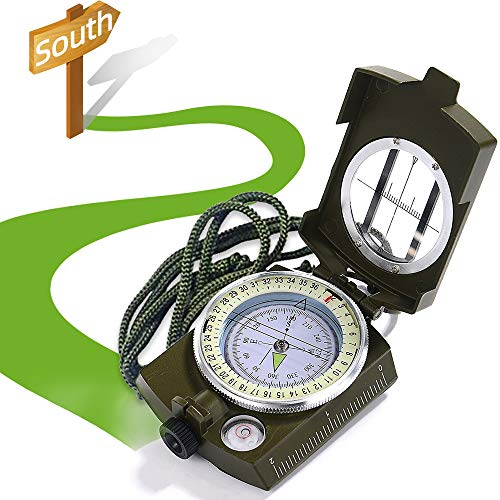 XCOZU Kompass, Kompass Outdoor Professioneller Navigation Kompass Kaufen...