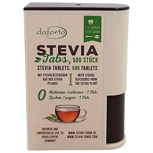 Daforto Stevia Tabs, 500 Stück