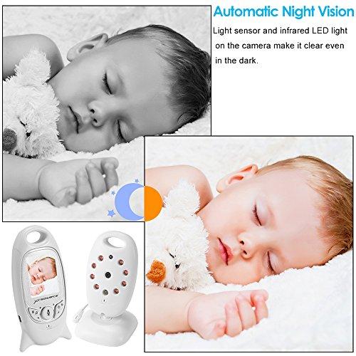 Babyphone Baby Monitor Wireless Live Kamera + Talk-Back Zwei-Wege Audio +...