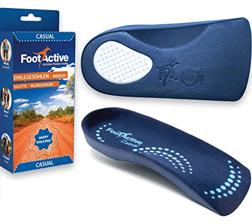 FootActive CASUAL Bei Fersensporn und Fußproblemen, 42 - 43 (M), Blau