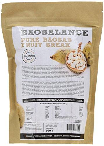 Baobalance Pure Baobab Premium Fruchtpulver für Smoothies & Shakes...