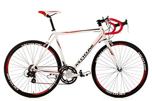 KS Cycling Rennrad 28'' Euphoria weiß Alu-Rahmen RH 53 cm
