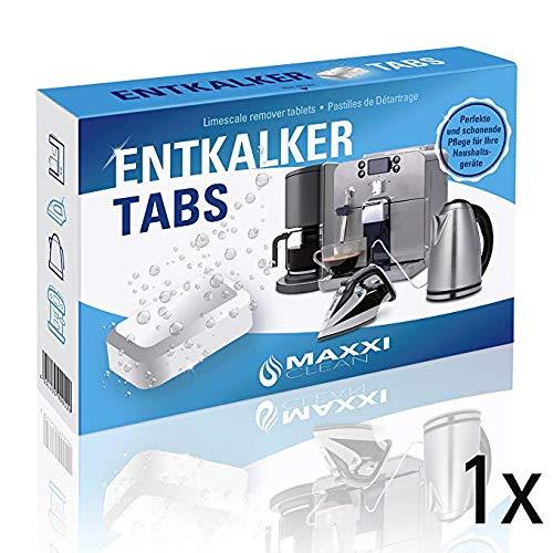 Maxxi Clean 50 Entkalker-Tabs, Kalklöser und Kalkreiniger als...
