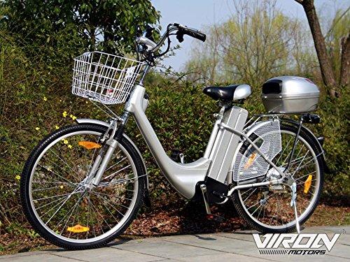Viron Elektrofahrrad 250W / 36V E-Bike 26' Zoll Pedelec Fahrrad mit Motor...