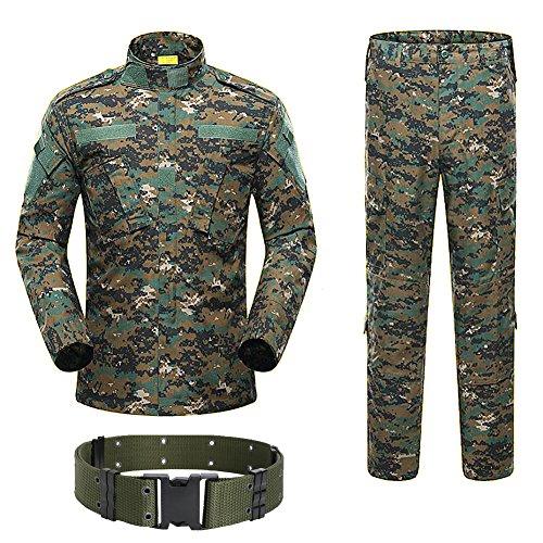 H Welt Shopping Military Tactical Herren Jagd Combat BDU Uniform-Shirt und...