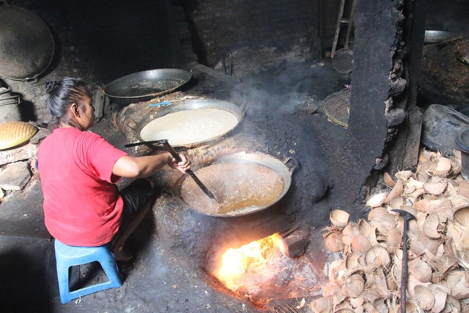 Kokosnuss Öl Herstellung