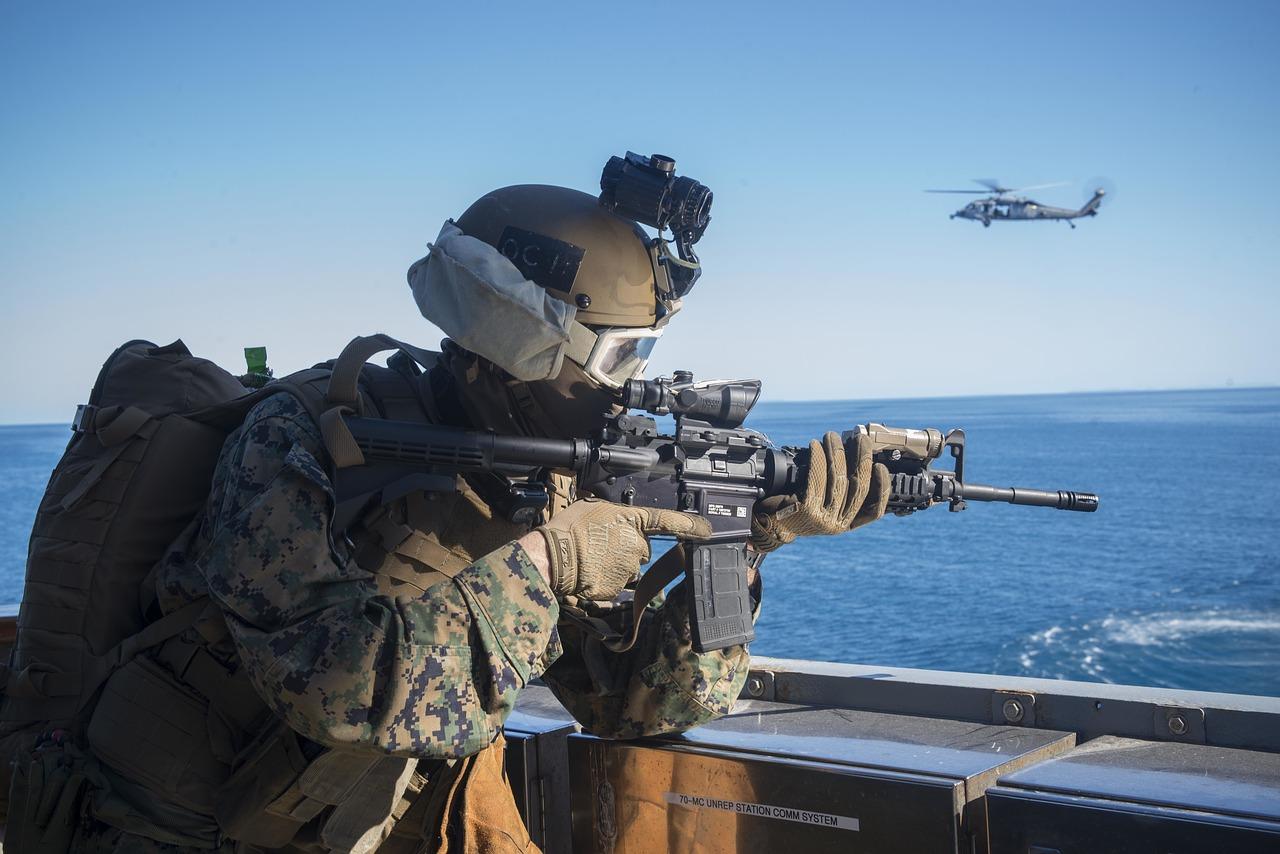 Nachtsichtgeräte kommen auch schon bereits seit vielen Jahren im Militär zum Einsatz.