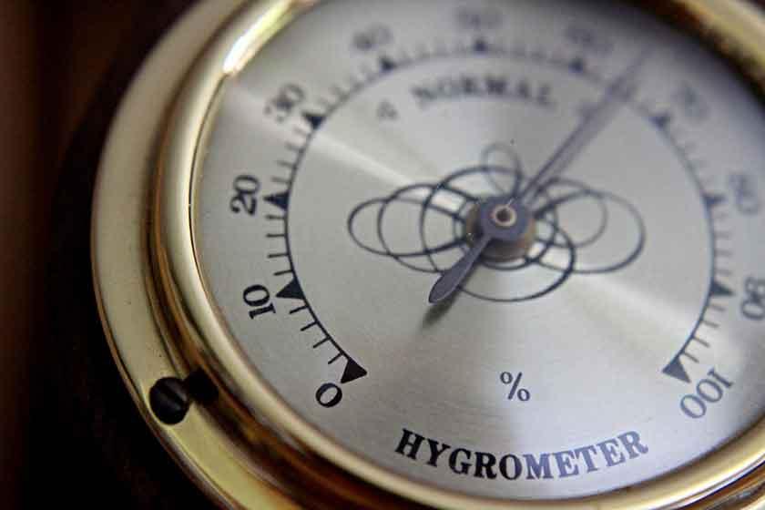 Sauna-Hygrometer